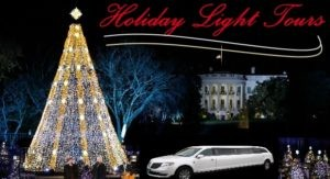 Christmas Tree Lighting with limousine