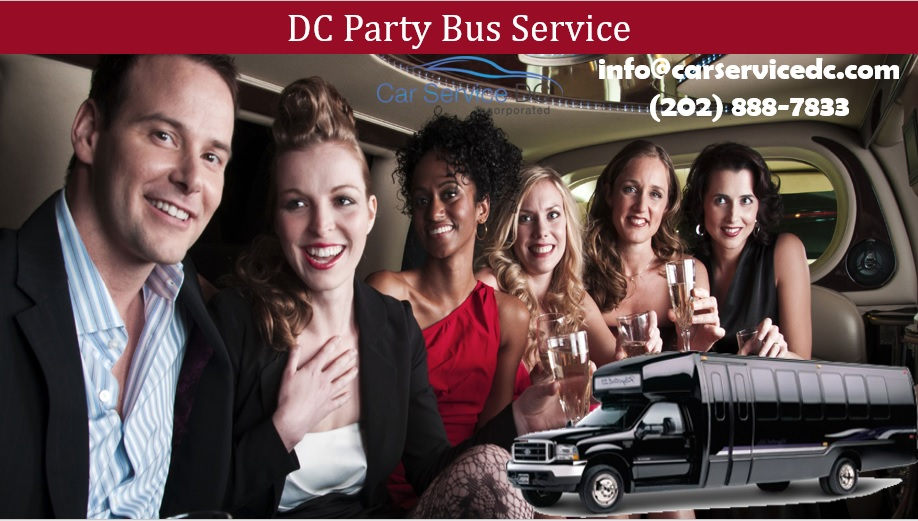 DC Party Bus Rental Near Me