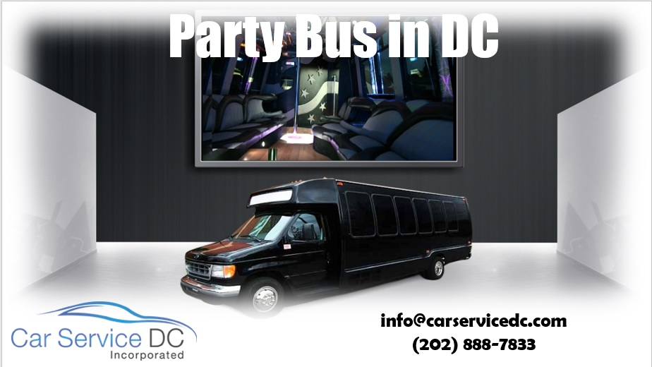 DC Party Bus Near Me
