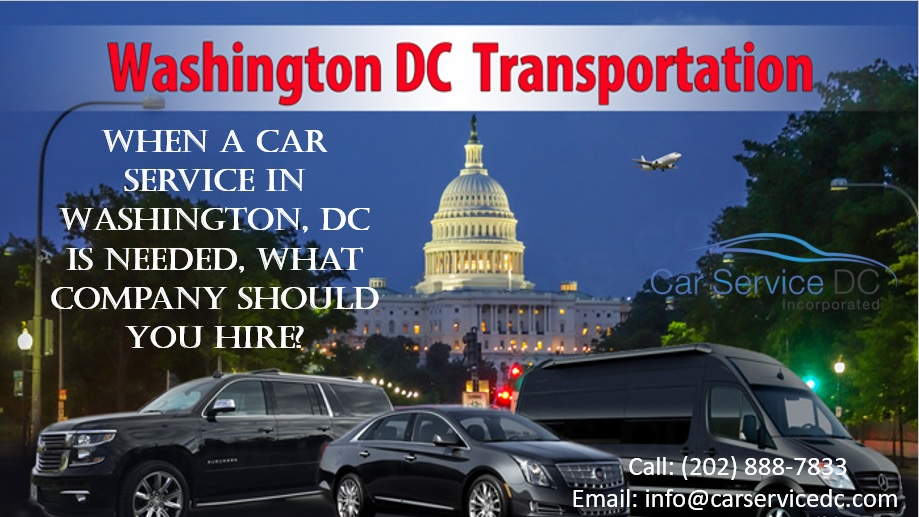 Passenger Transportation Car Service in Washington DC