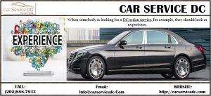 DC sedan service