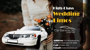 Arlington Wedding Limo