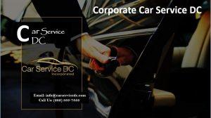 Corporate Car Services DC