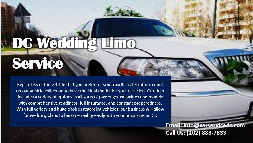 DC Wedding Limo Services