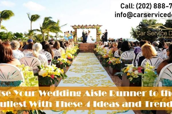 4 Fantastic Wedding Aisle Runner Ideas and Trends