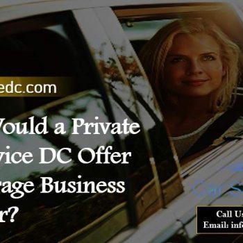 Private Car Service DC