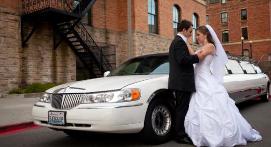 wedding limo service Las Vegas