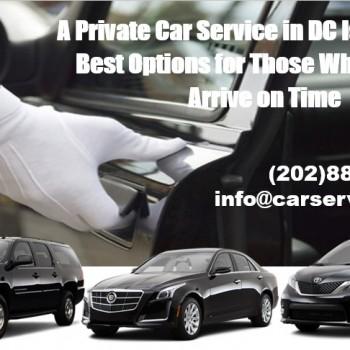 Private Car Service in DC