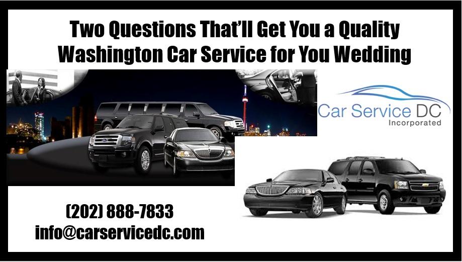 Washington Car Service
