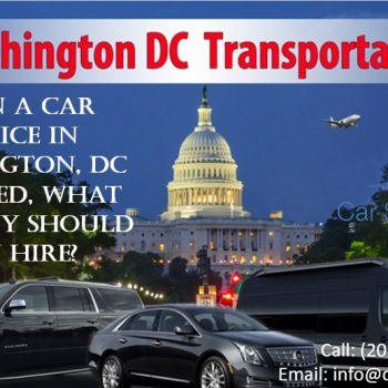 Car Service in Washington DC