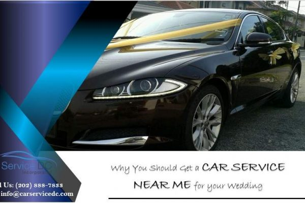 Car Service Near Me for your Wedding